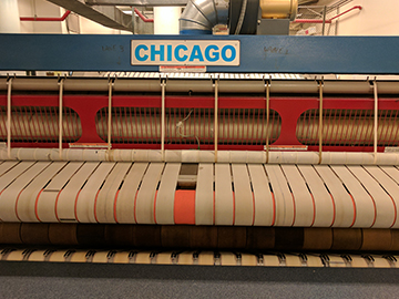 chicago flatwork ironer belt